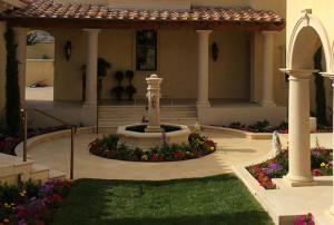 Limestone Fountain