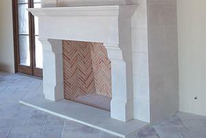 Limestone Firepplace