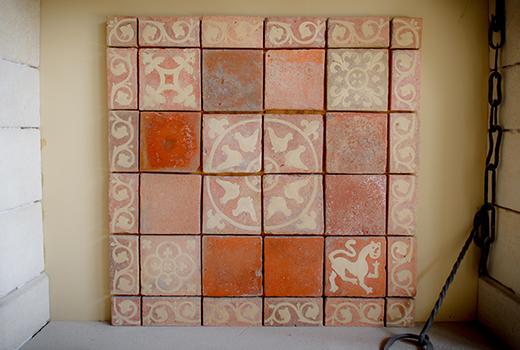 Limestone Company Square Tiles