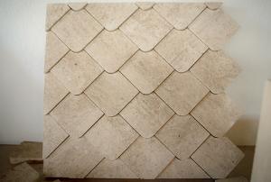 Limestone Company Tile Wall Design