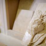 Limestone Fabricator Flower Design