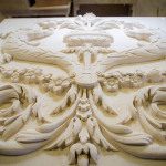 Limestone Wall Carving