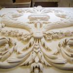 Limestone Wall Carving