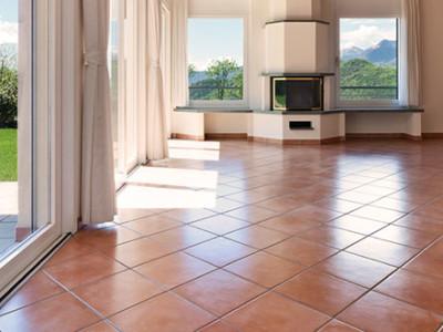Limestone Walls and Flooring
