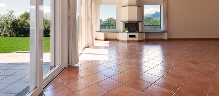 Limestone Walls and Flooring