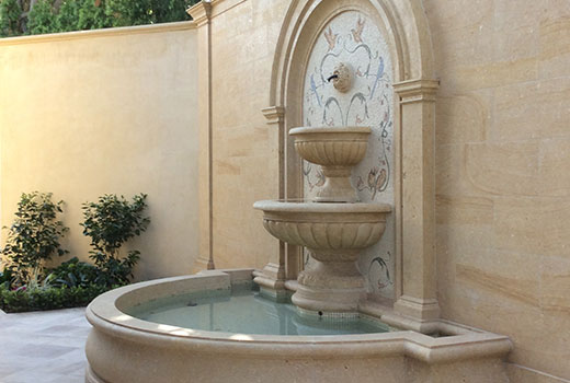 exterior fountain