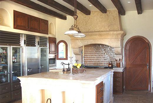 interior kitchen hood