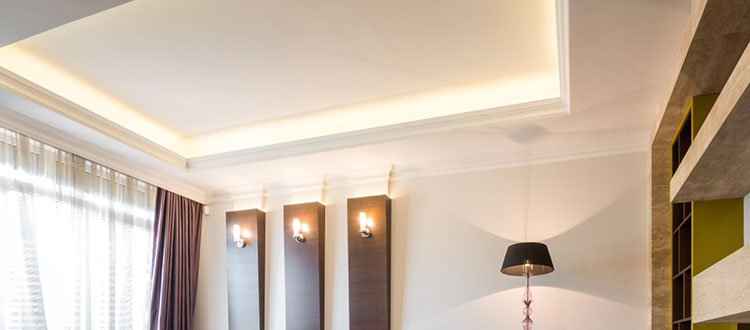 Limestone Company Ceiling and Wall Design