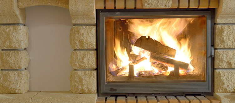 4 important tips for cleaning your limestone fireplace for Stone fireplace hearth cleaning