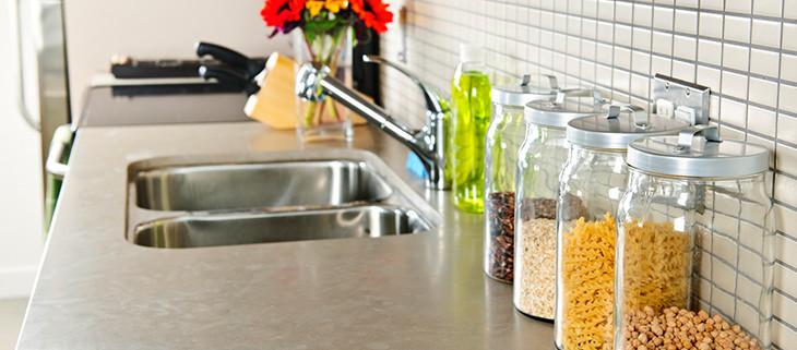 Limestone Looks Perfect in a Kitchen Countertop