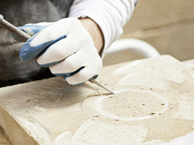 Limestone Features are a Popular Decorating Option