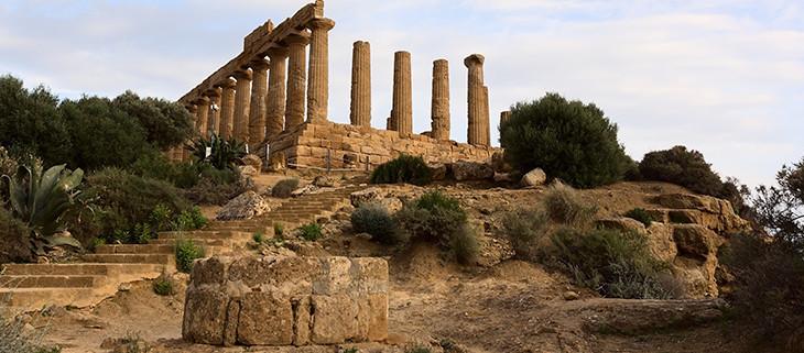Old Greek Limestone structure