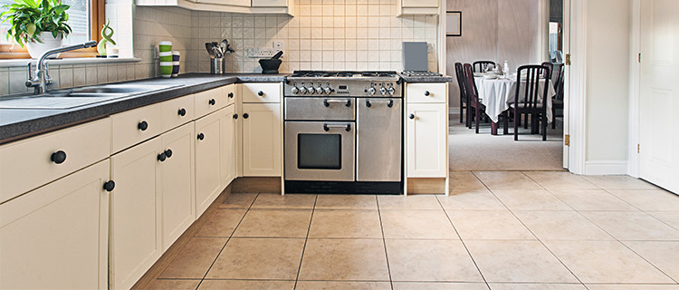 Limestone Company Fixes Kitchen Flooring