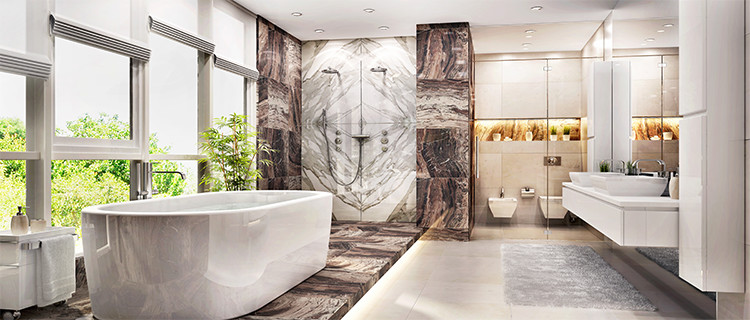 Marble-bathrooms-have-a-clean-look