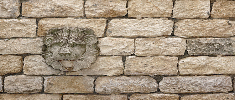 Wall-made-of-limestone