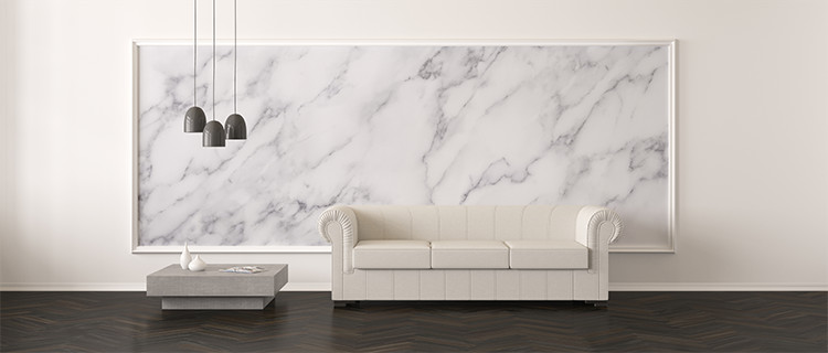 Marble-background-in-living-room