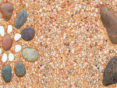 Limestone-and-pebble-background-used-in-decoration