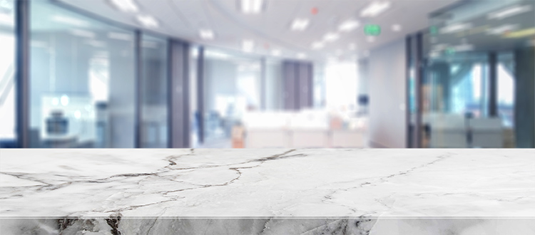 White-marble-countertop