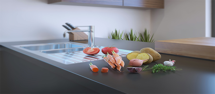 fruits-on-limestone-counter-in-kitchen