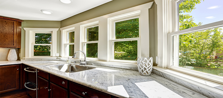 kitchen-with-marble-countertop