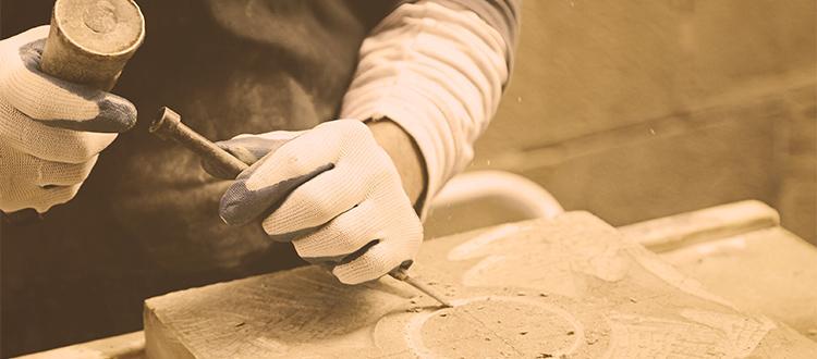 man-making-design-in-stone