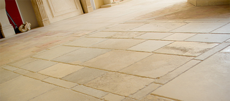 limestone-floor-in-household