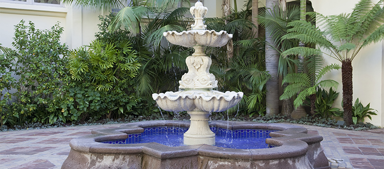 fountain-in-backyard