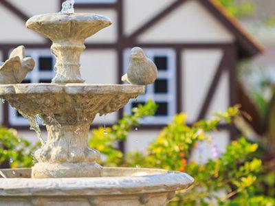fountain-in-backyard